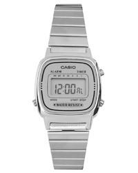 Orologio argento di Casio