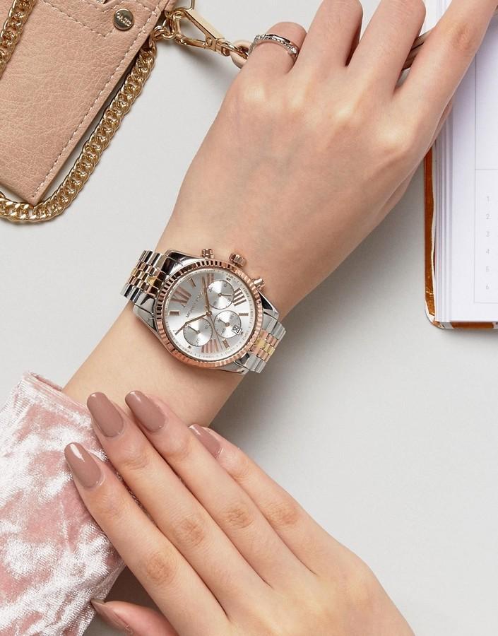 Orologio argento di Michael Kors, €308 | Asos | Lookastic
