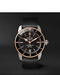 Orologio di gomma nero di Breitling