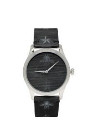 Orologio di gomma nero di Gucci