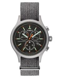 Orologio di tela grigio