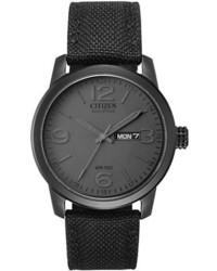 Orologio di tela nero