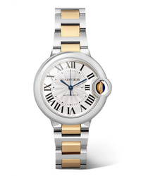 Orologio dorato di Cartier