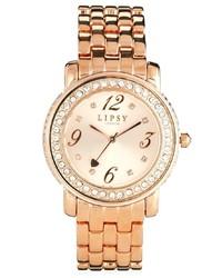 Orologio dorato di Lipsy