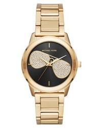 Orologio dorato di Michael Kors