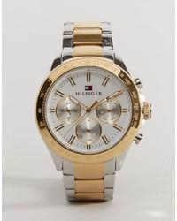 Orologio dorato di Tommy Hilfiger