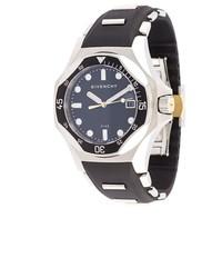Orologio in pelle nero di Givenchy