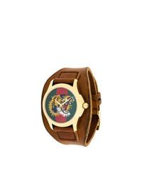 Orologio marrone di Gucci