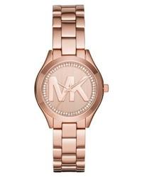 Orologio rosa di Michael Kors