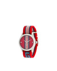 Orologio rosso di Gucci