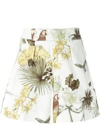 Pantaloncini a fiori bianchi di Etro