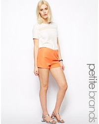 Pantaloncini arancioni di Glamorous Petite
