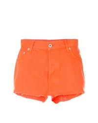 Pantaloncini arancioni di Heron Preston
