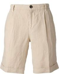 Pantaloncini beige di Brunello Cucinelli
