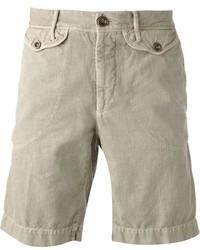 Pantaloncini beige di Incotex