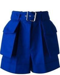 Pantaloncini blu di Alexander McQueen
