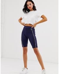 Pantaloncini ciclisti blu scuro di BLFD