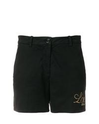Pantaloncini con borchie neri di Love Moschino