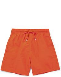 Pantaloncini da bagno arancioni
