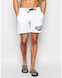 Pantaloncini da bagno bianchi di Tommy Hilfiger