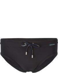 Pantaloncini da bagno blu scuro di Dolce & Gabbana