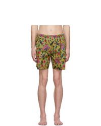 Pantaloncini da bagno multicolori di Prada