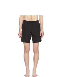 Pantaloncini da bagno neri di Alexander McQueen
