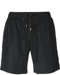 Pantaloncini da bagno neri di Dolce & Gabbana