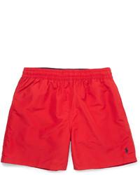 Pantaloncini da bagno rossi