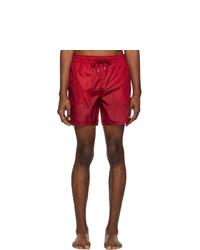 Pantaloncini da bagno rossi di Moncler