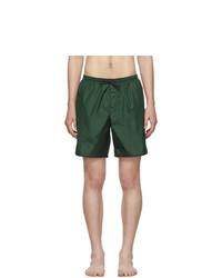 Pantaloncini da bagno verde scuro di Gucci