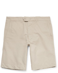 Pantaloncini di cotone beige di Officine Generale