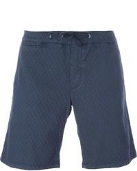 Pantaloncini di cotone blu scuro di Eleventy