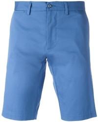 Pantaloncini di cotone blu di Dolce & Gabbana