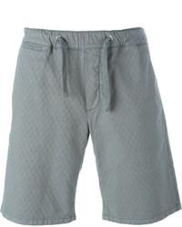 Pantaloncini di cotone grigi di Eleventy