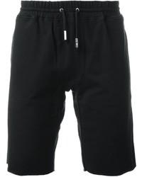 Pantaloncini di cotone neri di Eleventy
