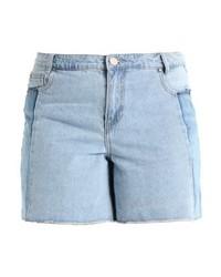 Pantaloncini di jeans azzurri di LOST INK