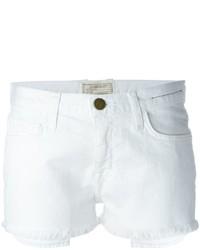 Pantaloncini di jeans bianchi di Current/Elliott