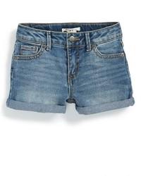 Pantaloncini di jeans blu