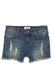 Pantaloncini di jeans blu scuro