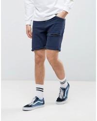 Pantaloncini di jeans blu scuro di Asos