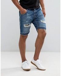 Pantaloncini di jeans blu di Brave Soul