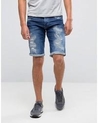 Pantaloncini di jeans blu di G Star