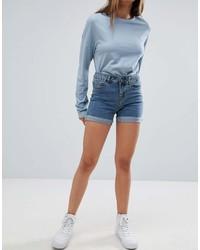 Pantaloncini di jeans blu di Noisy May