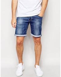Pantaloncini di jeans blu di Pepe Jeans