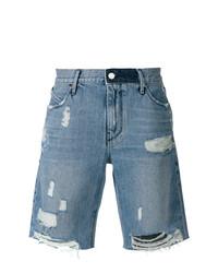 Pantaloncini di jeans blu di RtA