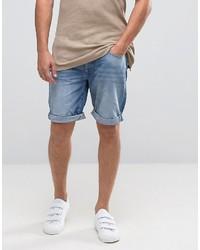 Pantaloncini di jeans blu di Selected