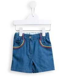 Pantaloncini di jeans blu di Stella McCartney