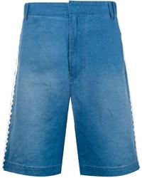 Pantaloncini di jeans ricamati blu di Stella McCartney