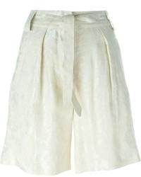Pantaloncini di lino beige di Etro